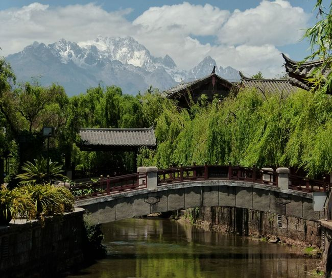 Lijiang Yunnan China Architecture Mountains Bridge Old Town No People Traveling Travel Street Photography
