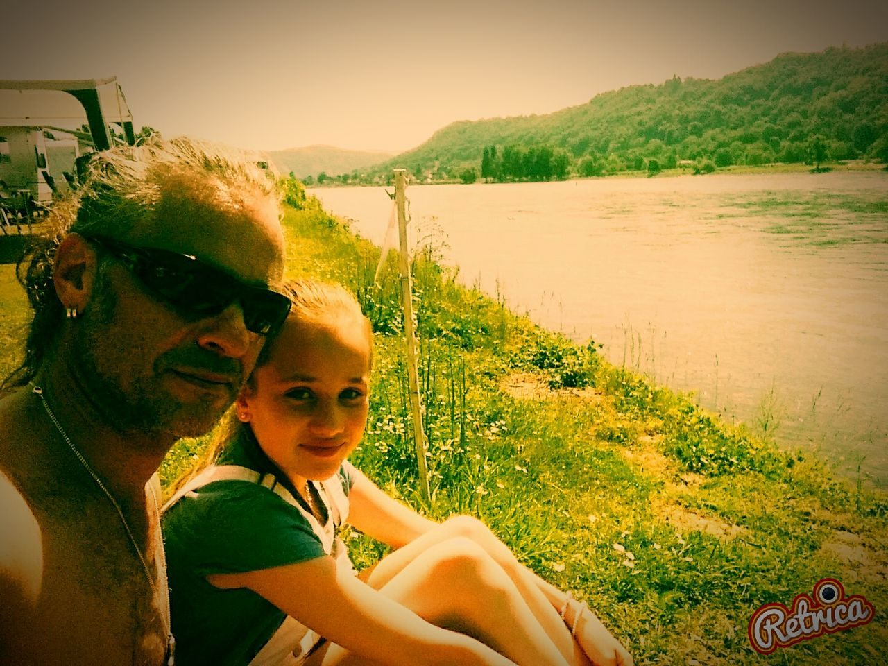 Camping Retrica✌ Me And My Doughters Popular Photos Nature_collection Mi Hija Y Yo