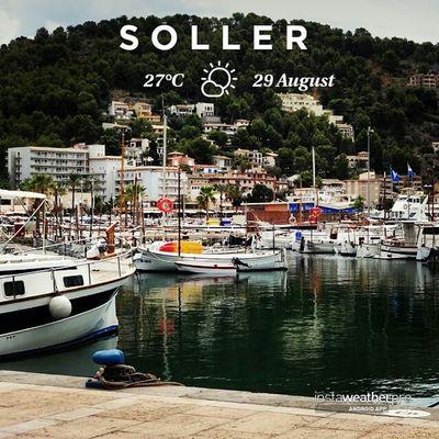 Still cloudy but it's ok. Could be worse! ??? @instaweatherpro Instaweatherpro Portdesóller Mallorca Baleares Spain WeatherTweet