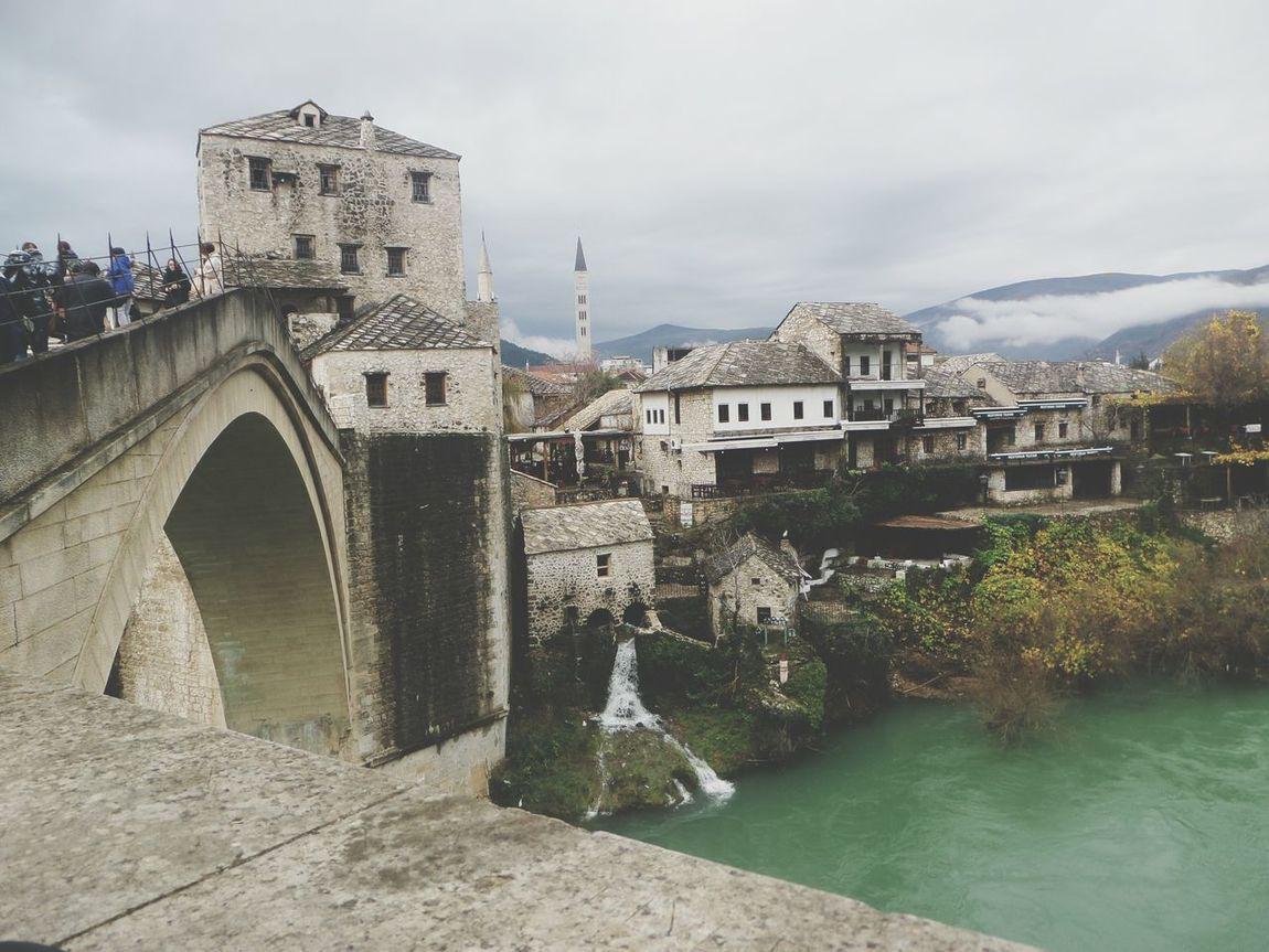 Mostar ♥ Mostar BIH Bosnia And Herzegovina Bridge River Neretva