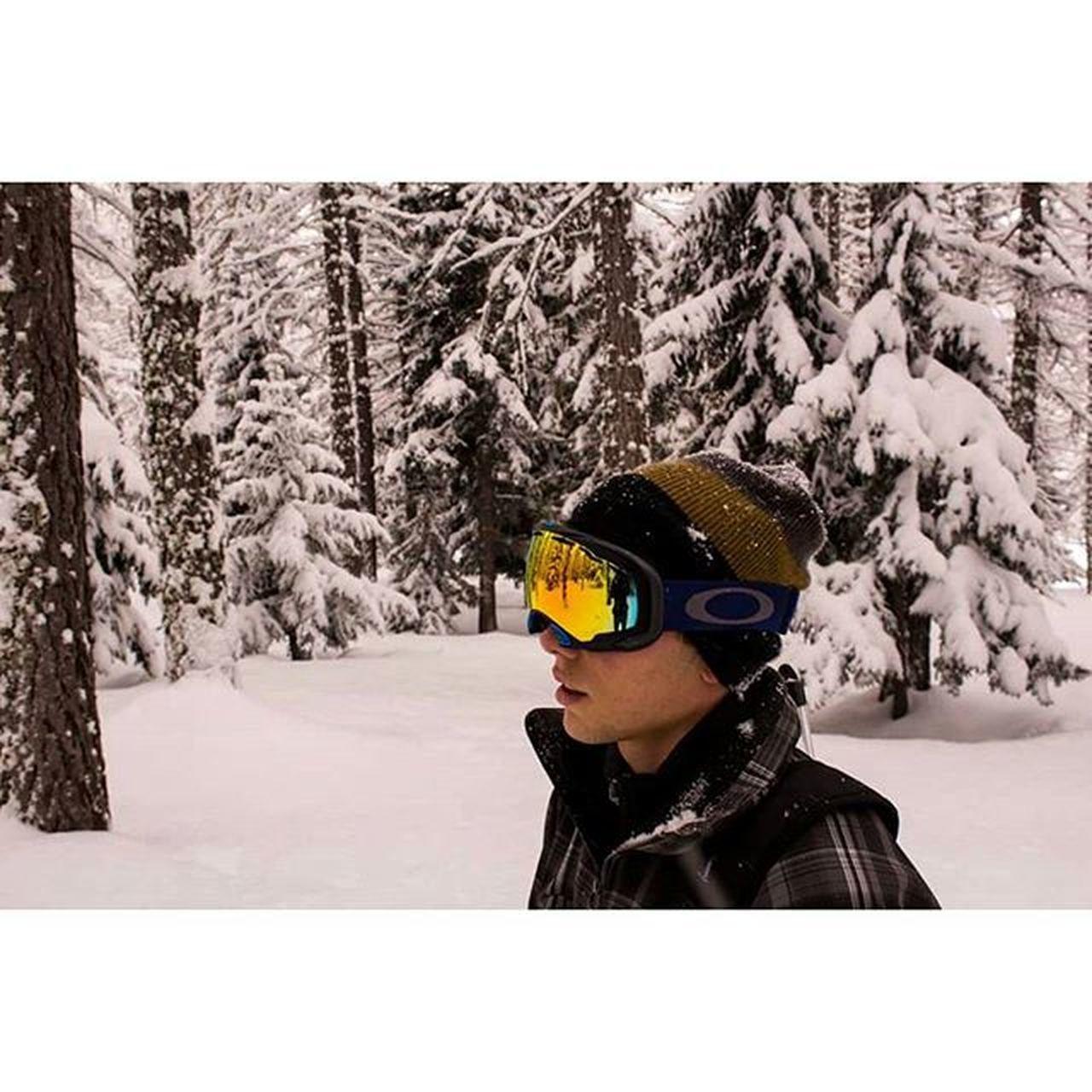 Ready for The season ❄ Winter Ready Readyforthesnow Snow Ski Snowboard Oakley Goggles Color Colorful Gold White Wood Armada Salomon Gopro Happines Freedom Soul