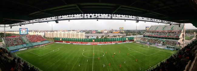 Soccer Game Goal Team Bangkokglassfc Cheering Photo Love