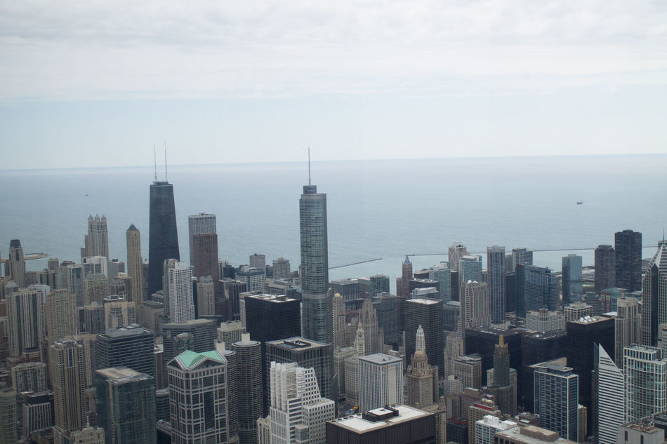 Beautiful stock photos of chicago skyline, Architecture, Building Exterior, Chicago, City