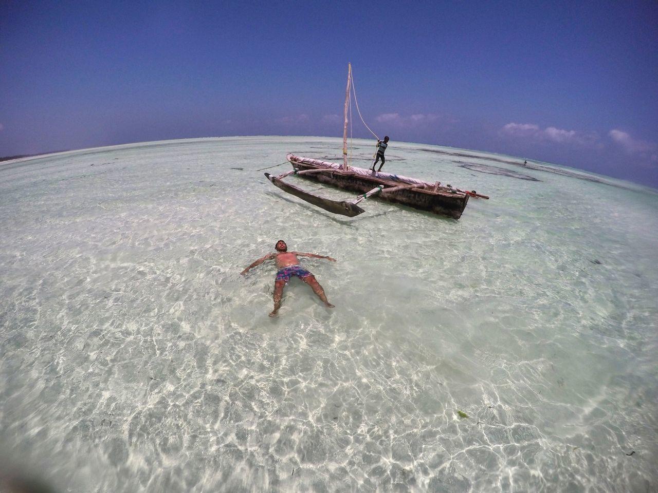 Gopro Drone  Zanzibar Beach Africa