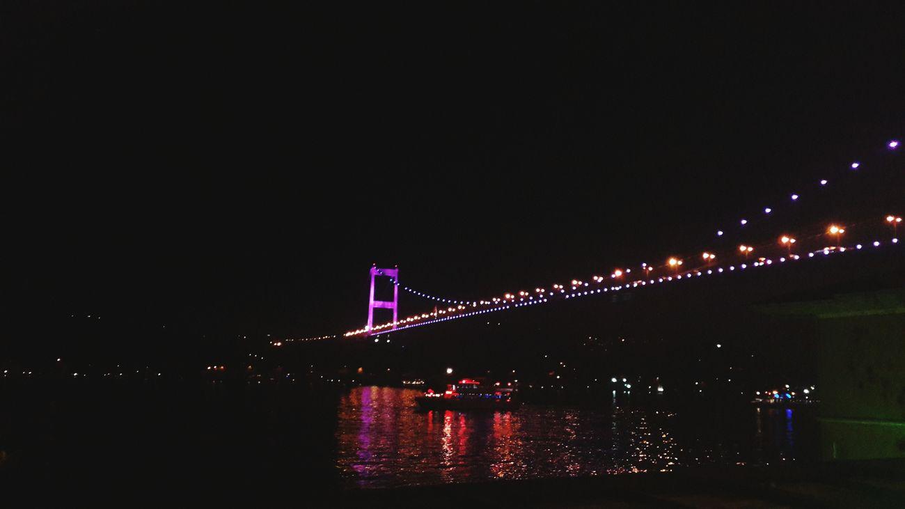 Istanbul - Bosphorus Walking Around Relaxing Seaside Sea Istanbuldayasam Night Lights Night Istanbul Turkey Relaxing