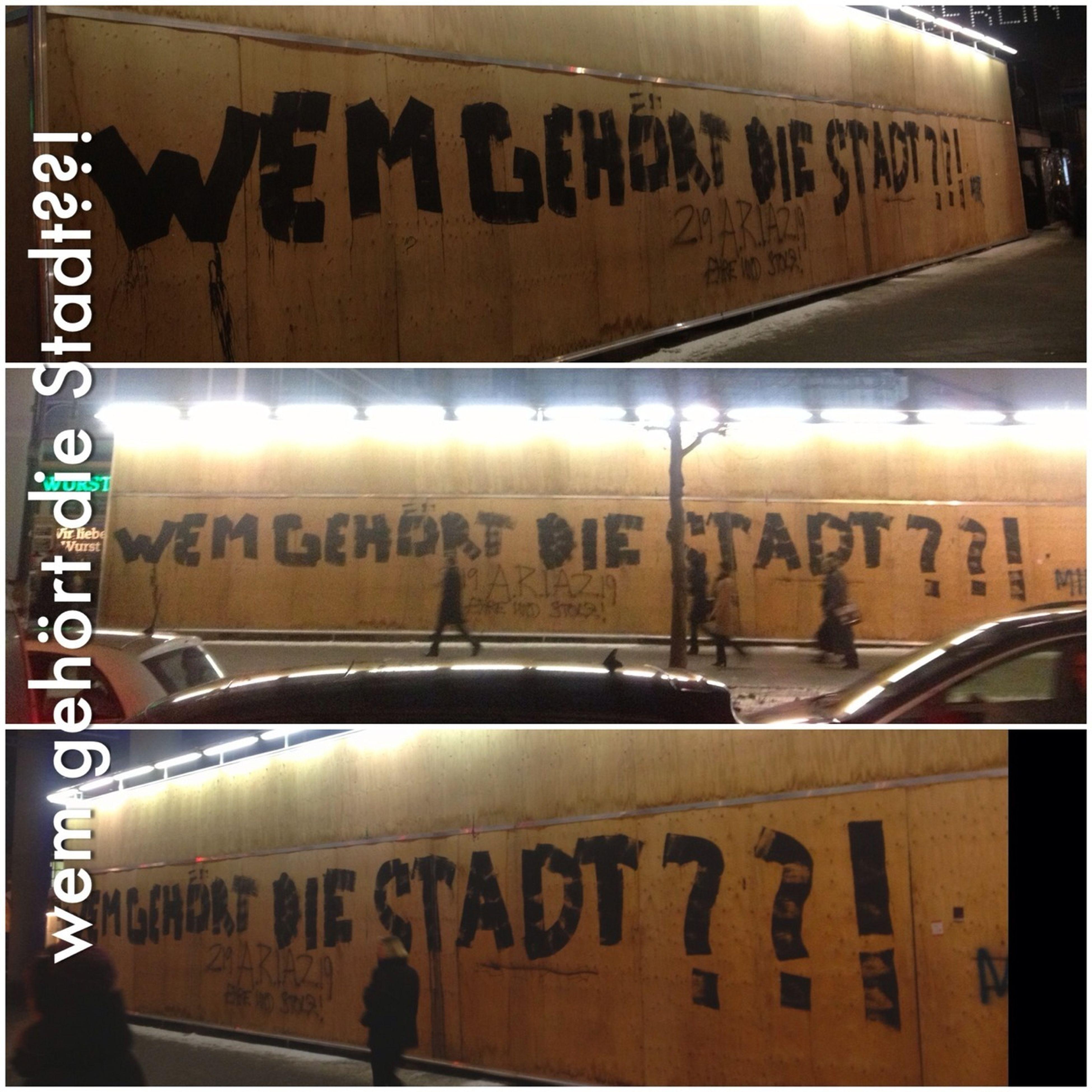 wem gehört die Stadt??! #streetart