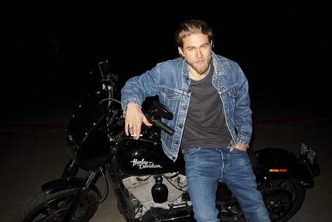 Sonsofanarchy Harleydavidson Jacks Charlie Hunnam