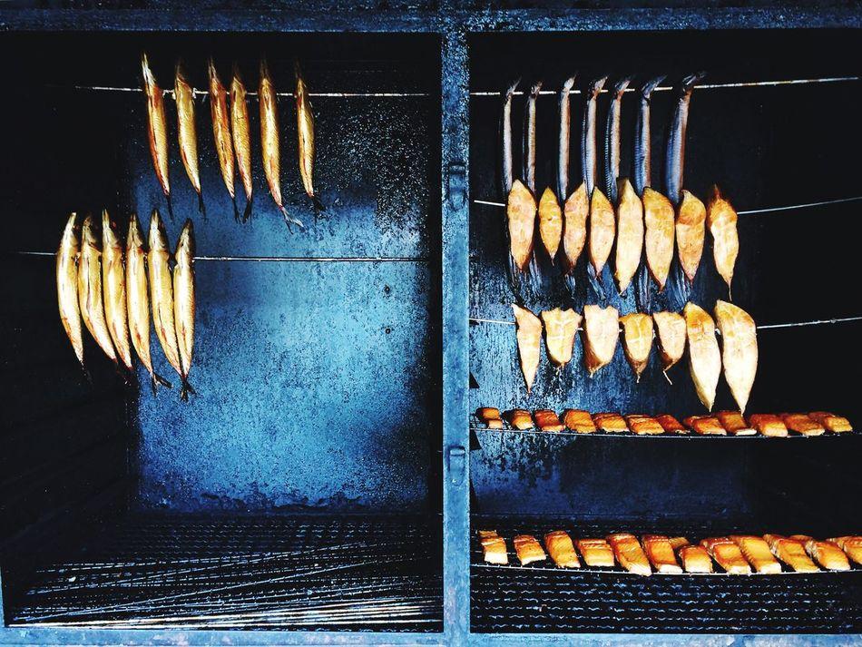 SalmonFishing Smoked Fish Foodporn Lake Berlin Köpenick Fishermen's Life Food Preparation Showcase July