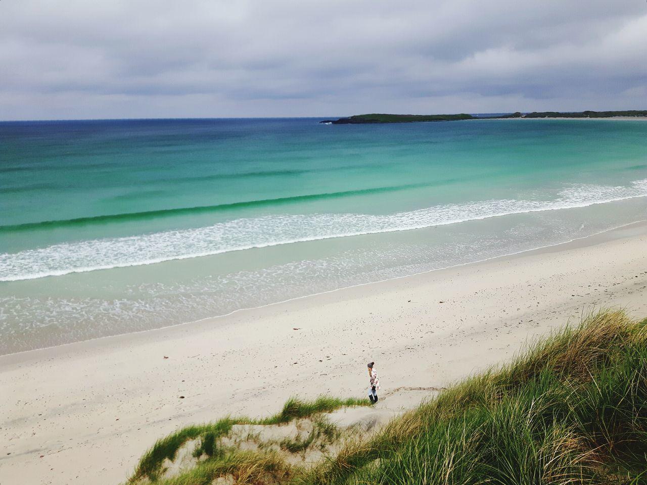 Coastline Horizon Over Water Water's Edge Sand Dune Scottish Beaches Scotland Scottish Beach Nortuist The Great Outdoors - 2017 EyeEm Awards Hebrides Outerhebrides Isleofbarra Barra Live For The Story EyeEmNewHere Beauty In Nature Uist