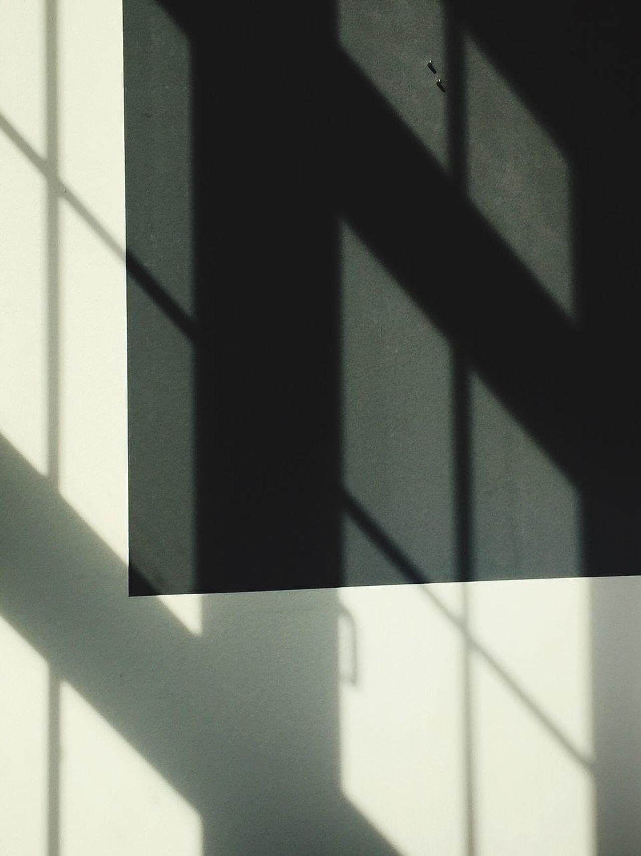 Shadow Focus On Shadow Sunlight Day Indoors  Built Structure Architecture Close-up Window Wall White