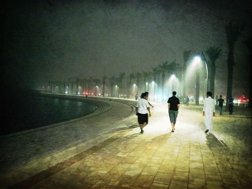 Walking around in Riyadh by Hamoud Amer