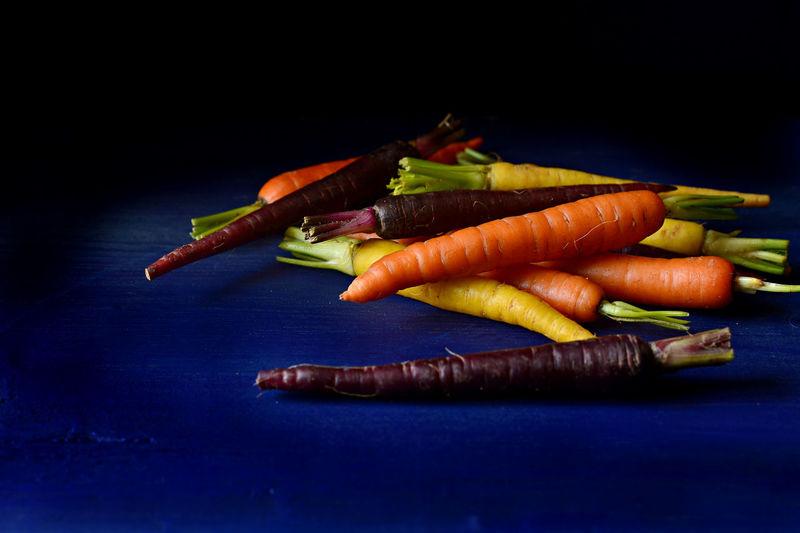 Carrots Dark Food Photo Day Food Food Ingredients Foodphotography Healthy Eating Multicolored No People Raw Food Vegetables Vegetarian Food Veggies