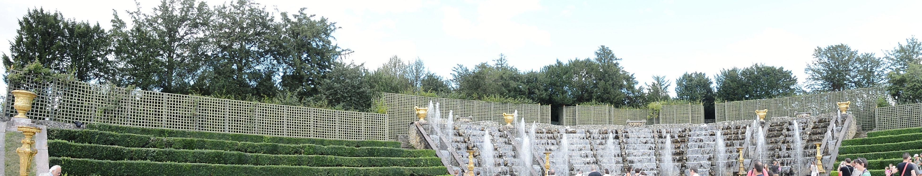Versailles Versailles Gardens Bosquet De La Salle De Bal Panoramic View Throw A Curve