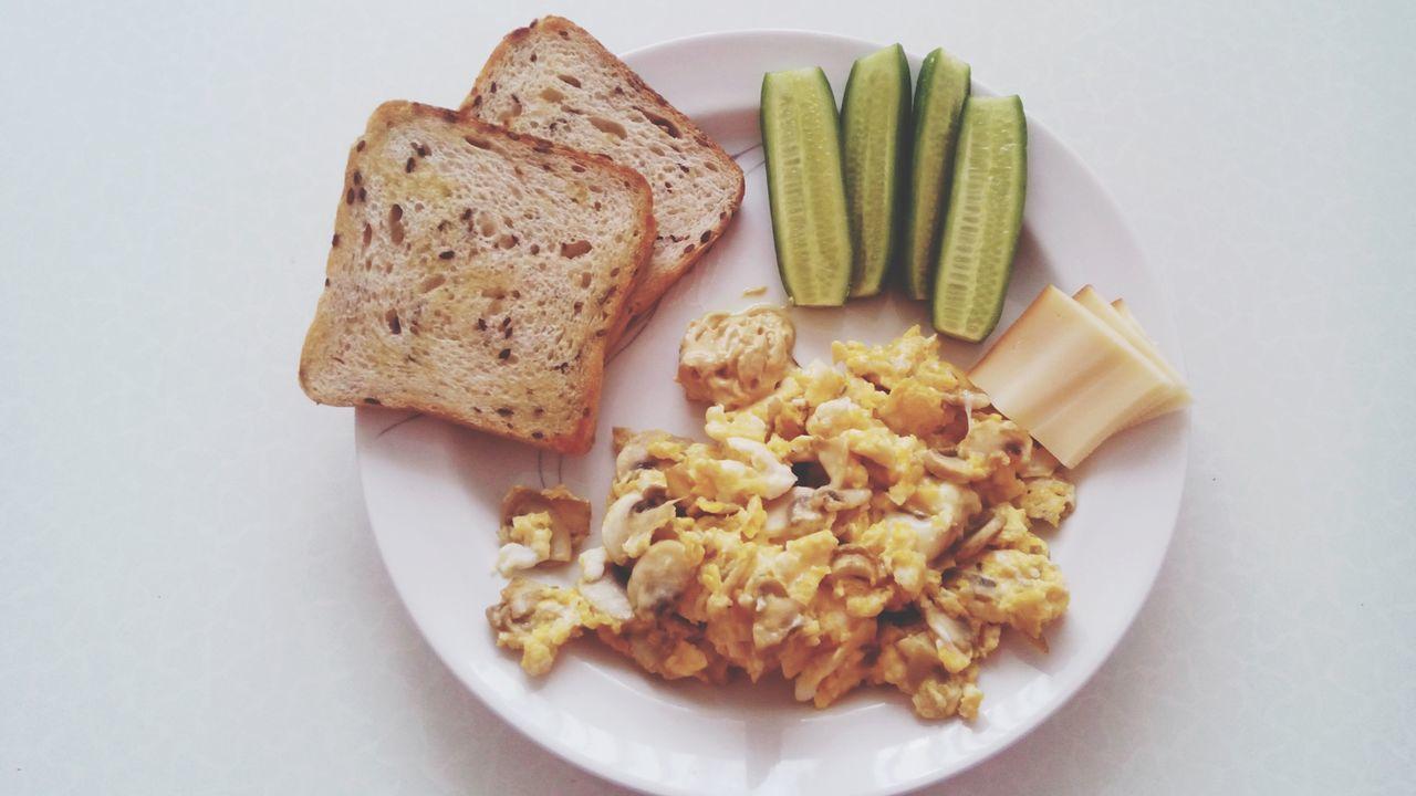 Beautiful stock photos of good morning, Bread, Breakfast, Cheese, Cucumber