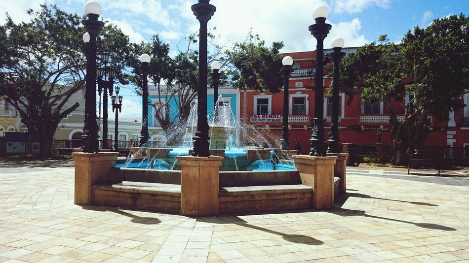PUERTO RICO 🇵🇷 Architecture Public Square Arecibo, PR
