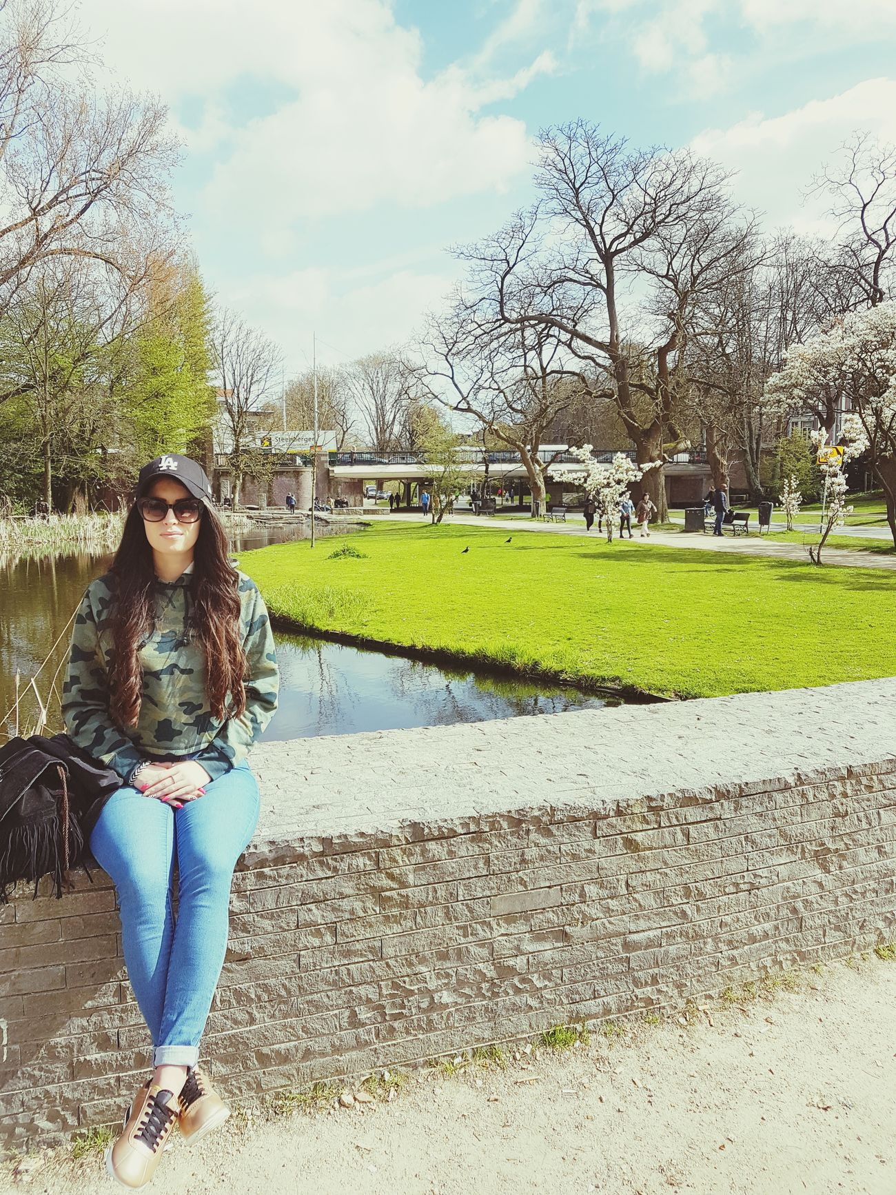 Amsterdam Vondelpark Sunnyday Netherlands City Break Holland Polishgirl