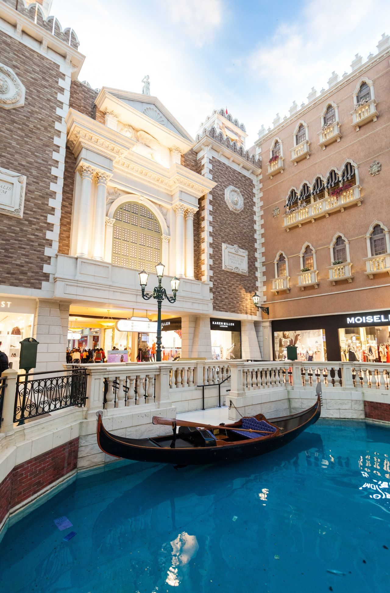 The Venetian Macao is a luxury hotel and casino resort in Macau owned by the American Las Vegas Sands company. Architecture Building Exterior Built Structure Casino Cotai CotaiStripMacau Cultures Day Gondola - Traditional Boat Hotel Interior Interior Design Macao  Macao China Macau Macau, China Outdoors Shopping Shopping ♡ Sky The Venetian The Venetian Macau Resort Hotel Travel Destinations Venetian Water