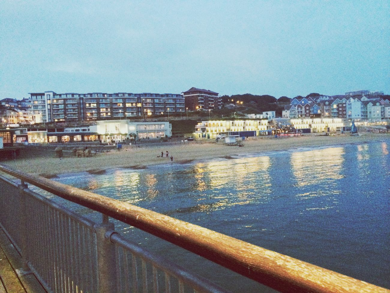Hello World Beach Boscombe Pier  I Love It ❤