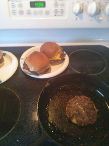 Yumny Stuffed Hamburgers
