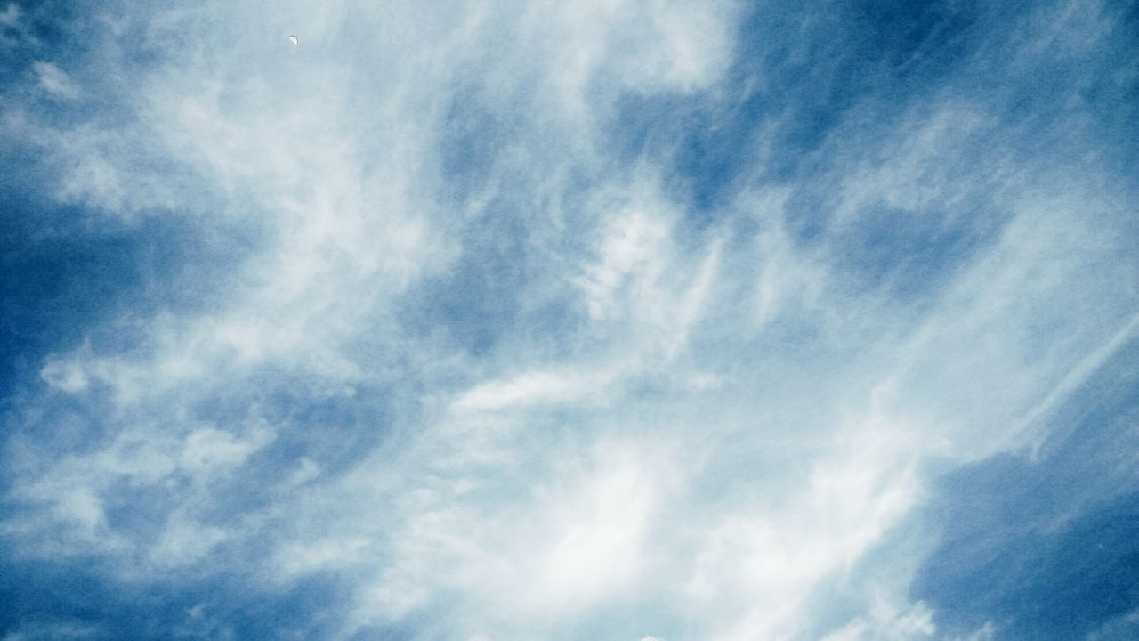 sky, low angle view, beauty in nature, nature, cloud - sky, blue, backgrounds, sky only, day, no people, scenics, full frame, tranquility, outdoors