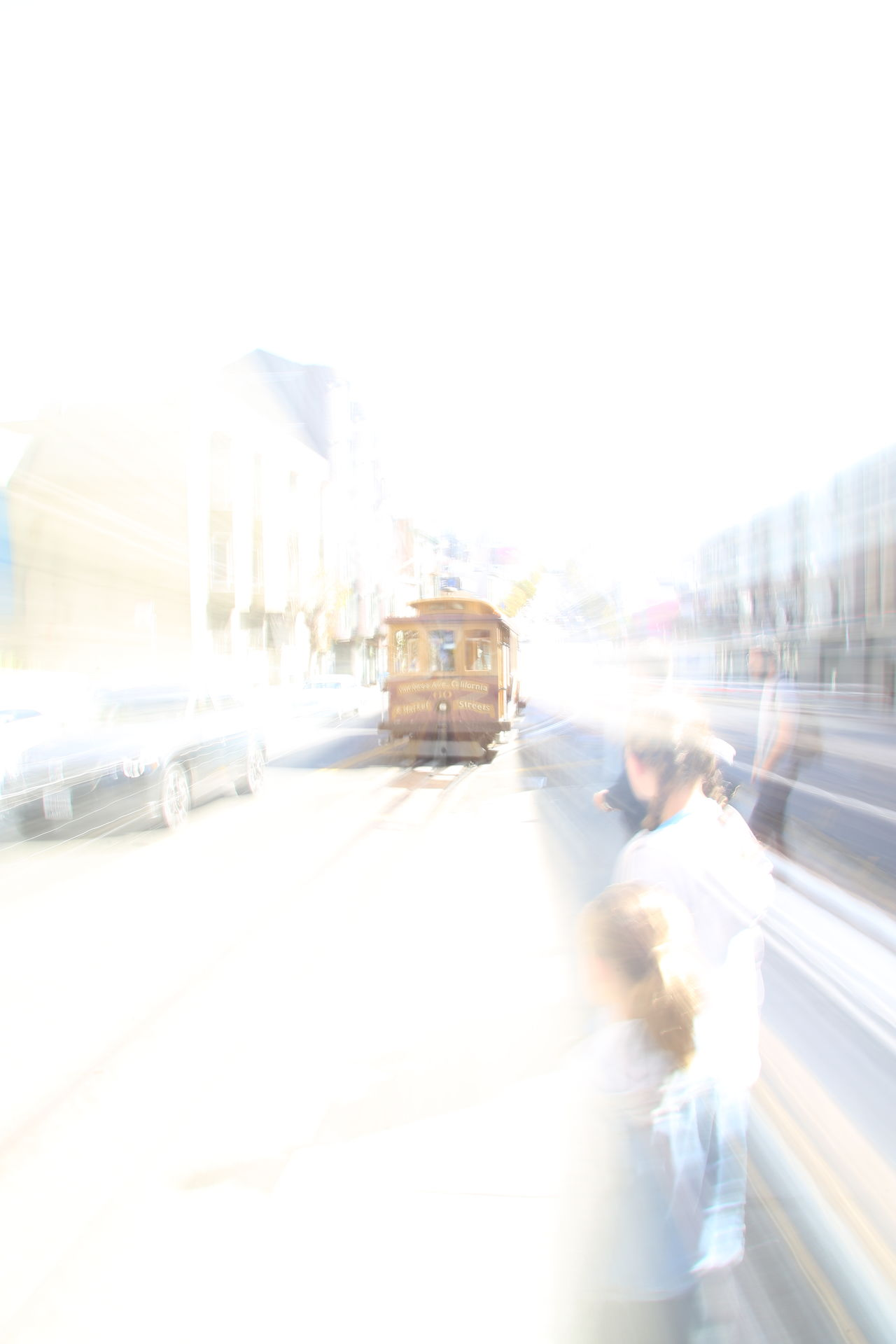 Building Exterior Cable Car City City Life Cityscape Day Lifestyles Moving Outdoors Public Transportation Traffic