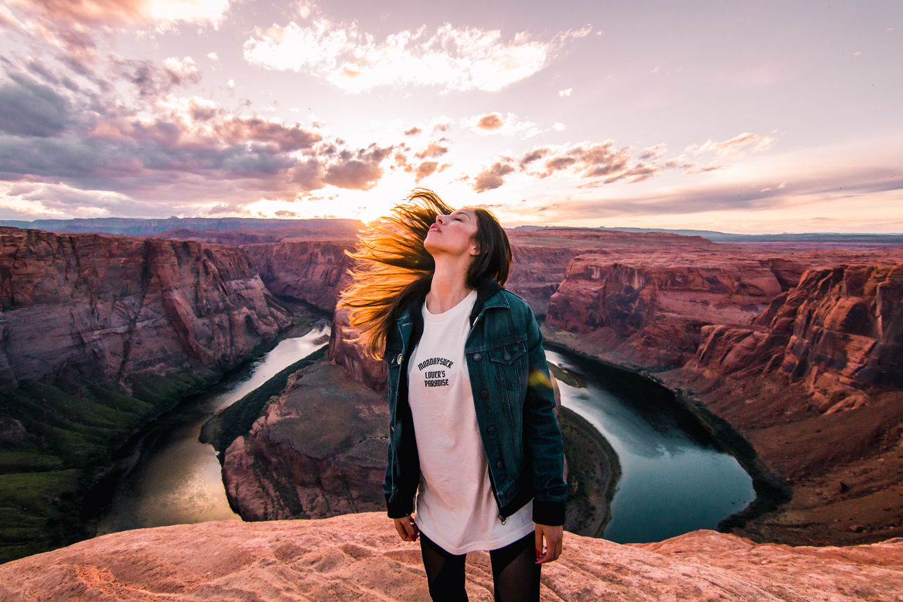 Beautiful stock photos of america,  25-29 Years,  Backlit,  Beauty In Nature,  Brown Hair