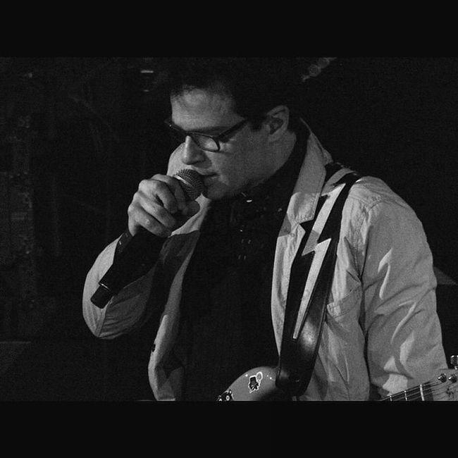 @rivers_cuomo from Weezer. Weezer Cruise 2014. Show A. WEEZER Weezercruise Bahamas Sony Sonyhx50 HX50 Live Music Gig Buddyholly Blackandwhite Pointandshoot Zoom Monikasmithphotography
