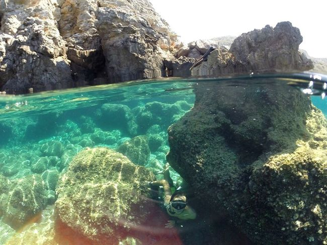 Gopro Goprooftheday Nature Water Rock - Object Scenics Tranquil Scene Beauty In Nature Sea Rock Photography Dome Goprohero3 GoPro Hero3+ Gopro Shots Goprophotography Gopromoment Goprouniverse