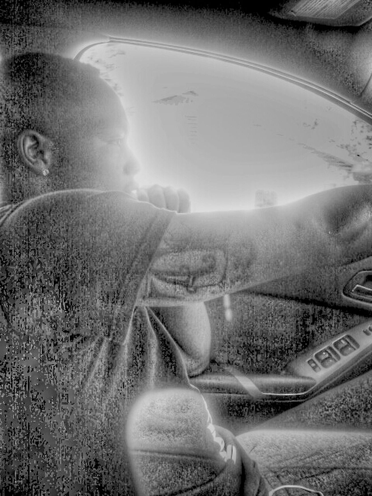 Riding Tatted @swayzandretti Tatts All On My Arm Thru Da Hood Sweet Home Alabama Ride Wit Me