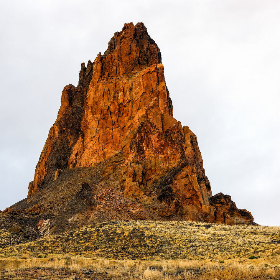Day Extinct Volcano Low Angle View Mountain Nature No People Outdoors Rock Outcrop Sky
