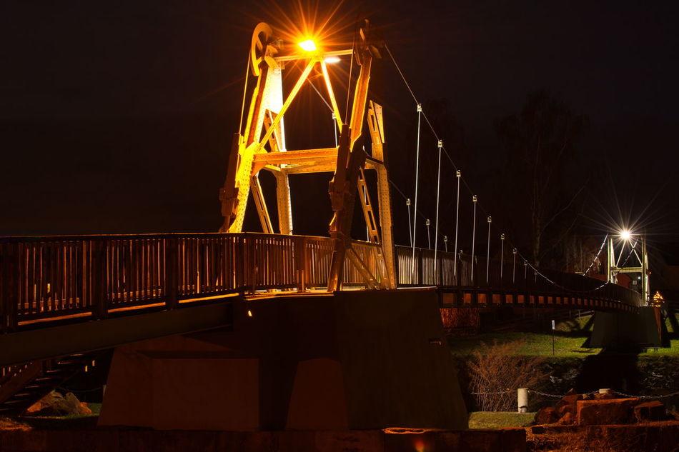 Night No People City Business Finance And Industry Outdoors Architecture Sky Bridge Long Exposure Longexposure Tripod Rochlitz Nightphotography