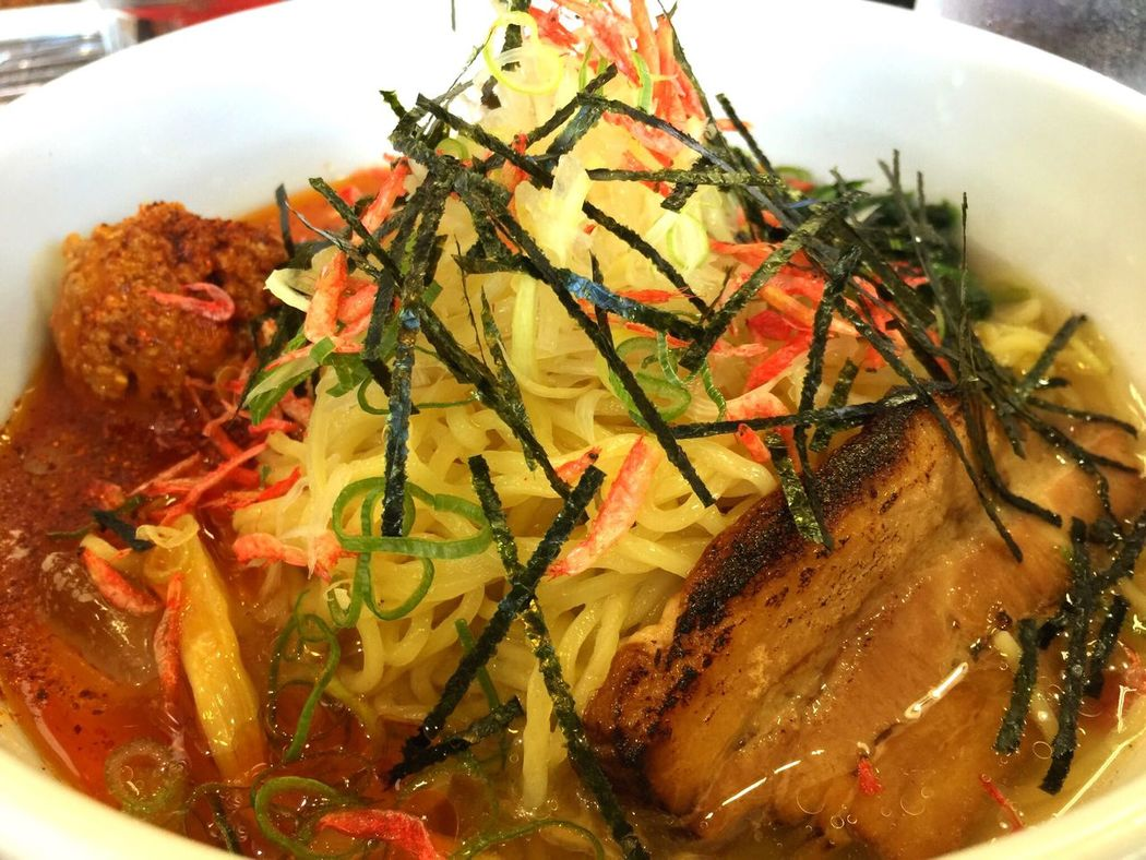 Ramen Ramen Noodle Seafood Soup Food Foodporn Japan Tokyo Yum Yummy Delicious Close-up Japanese Food Is The Best 日本食 ラーメン 魚介ラーメン サッパリ 美味しい 美味しそう 美味しかった 飯テロ おなかすいた ラーメン街道 東京 日本 旅行