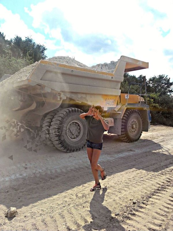 Live For The Story Young Women Real People Lifestyles Big Car dust belaz EyeEm Harmsway Live For The Story