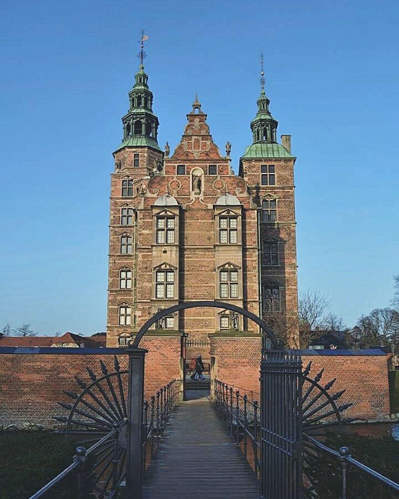 Rosenborg Slot Castle Architecture Copenaghen Danmark Travelling