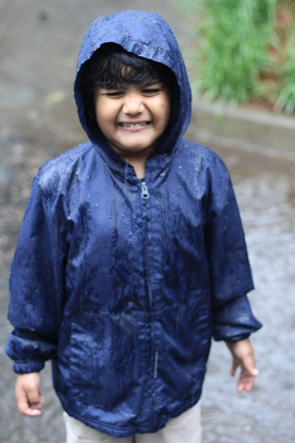 Boys Cheerful Childhood Close-up Day Focus On Foreground Front View Happiness Leisure Activity Lifestyles Looking At Camera Nature One Person Outdoors Portrait Real People Smiling Standing Warm Clothing Water