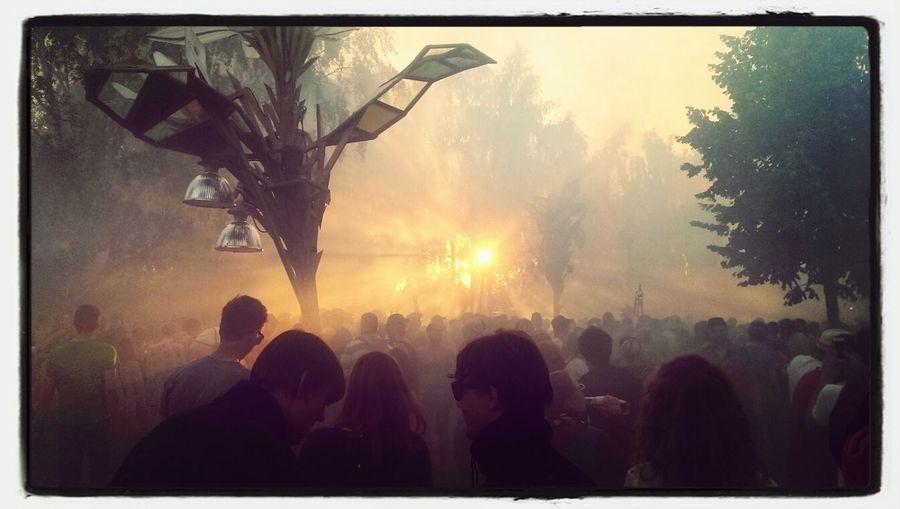 Fusion Festival Tanzwüste Festival Fog