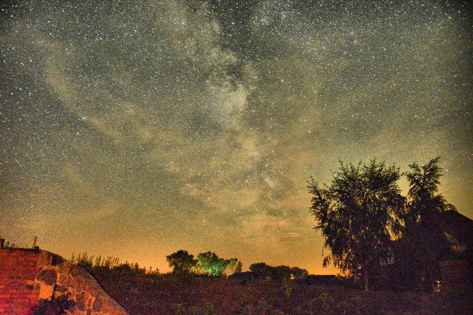 Poland Sky Sky Full Of Stars Sugajno