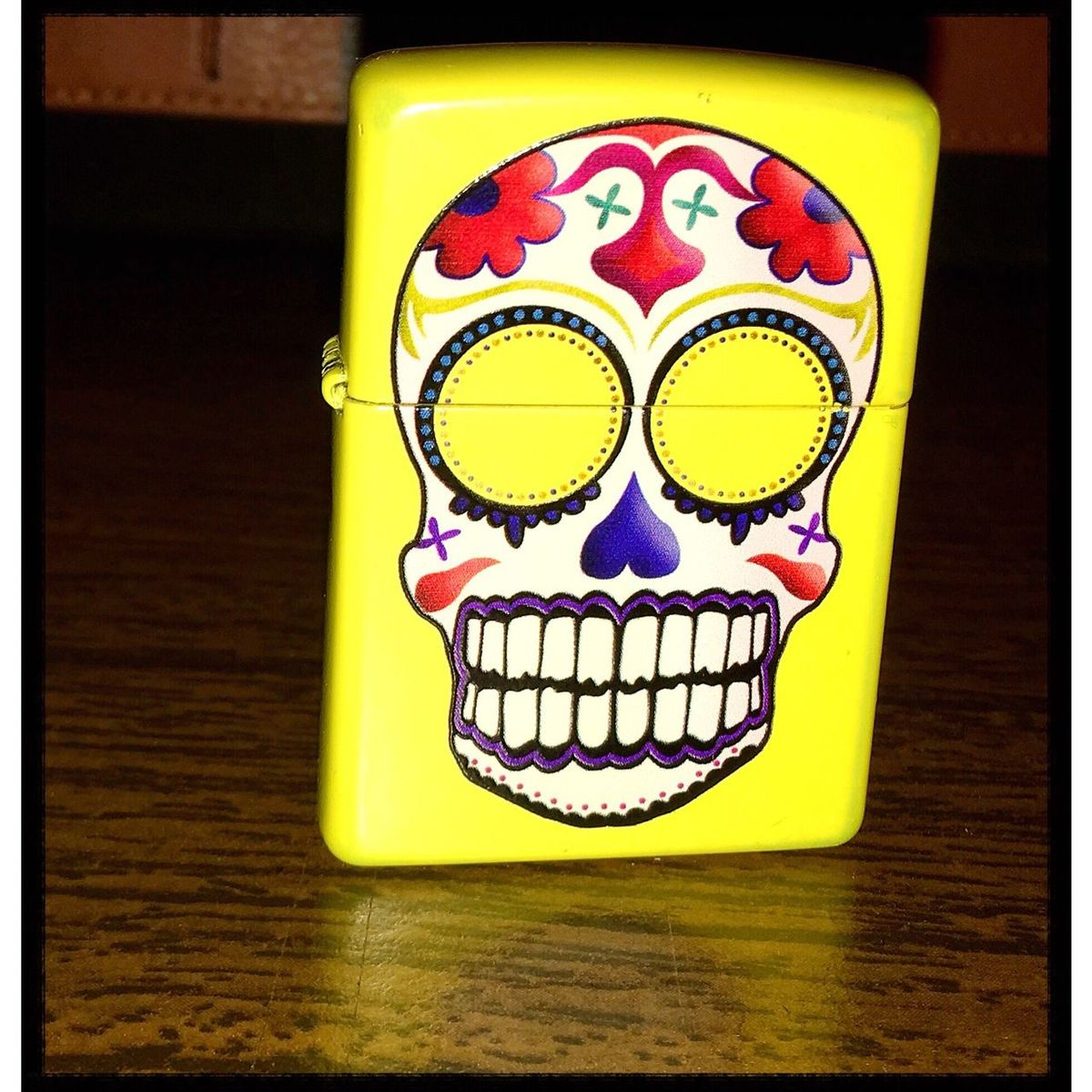Smile, everything is going well. Zippo Smile Random Ligthers