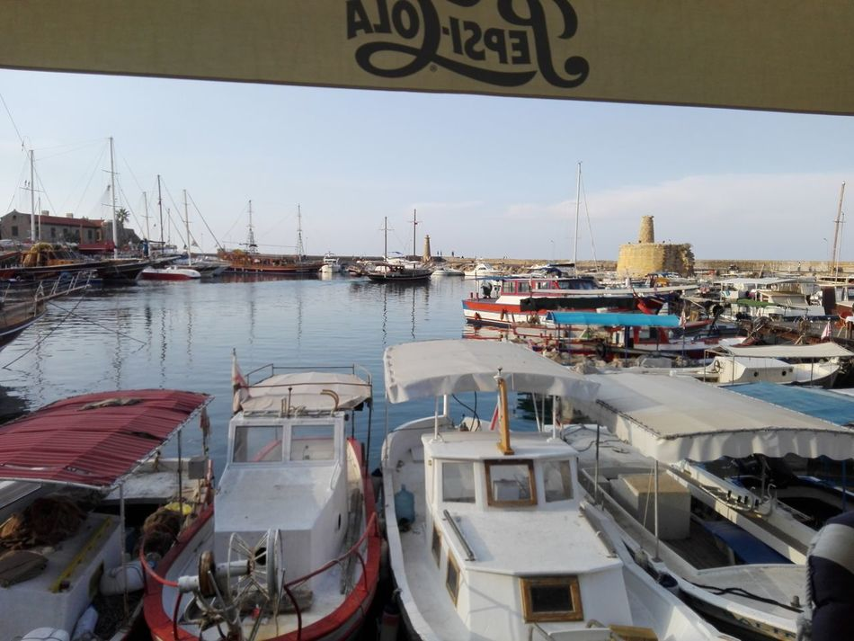 Architecture Bridge - Man Made Structure Built Structure City Day Harbor Kyrenia Harbour Mode Of Transport Moored Nautical Vessel No People Outdoors Sky Transportation Water