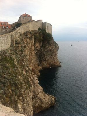 Walking around at Gradske Zidine (Walls of Dubrovnik) by expatjournal