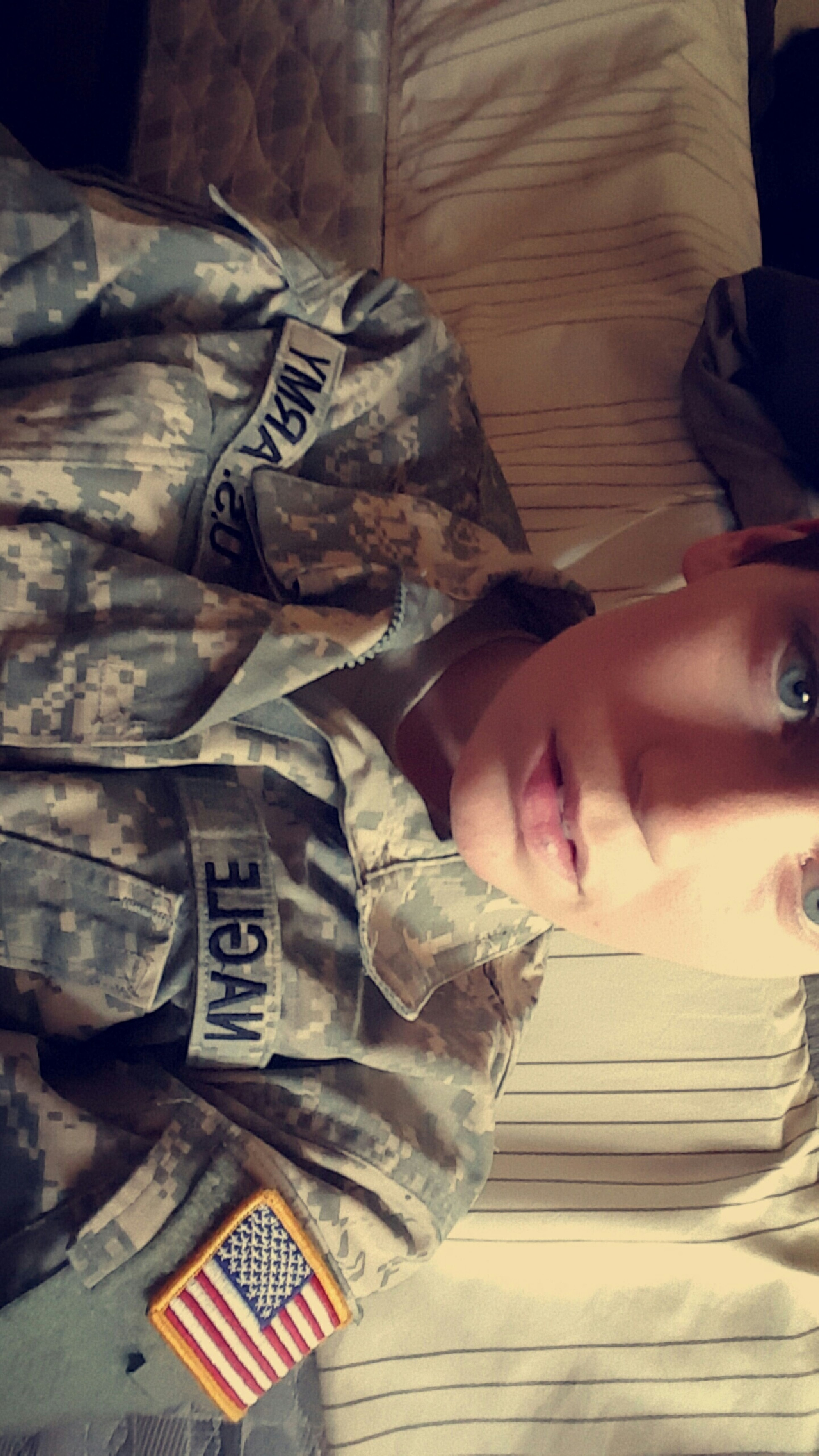 Love my job ActiveDuty Soldier Usarmy Firstinfantrydivision Bro Bigredone Selfie ✌ Hello World