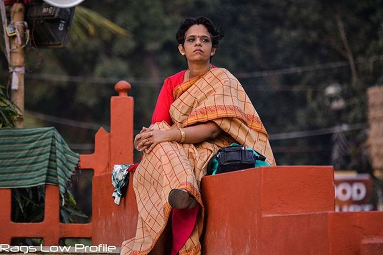 Captured this pic without my model's knowledge at Adivasi Mela 2016, Bhubaneswar... Does expression on her face let you know that she is waiting for someone? :D Lady Freewoman