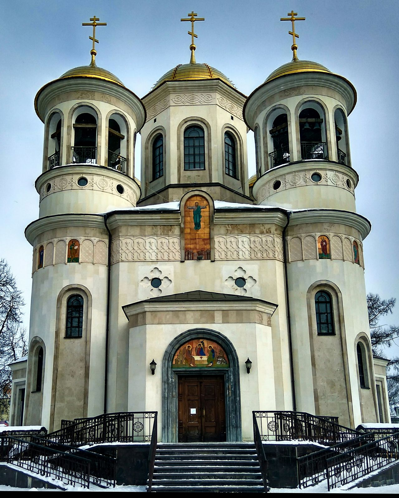 Russian Church Religion Façade Architecture History No People Day Sky Russian Beauty Russian Church