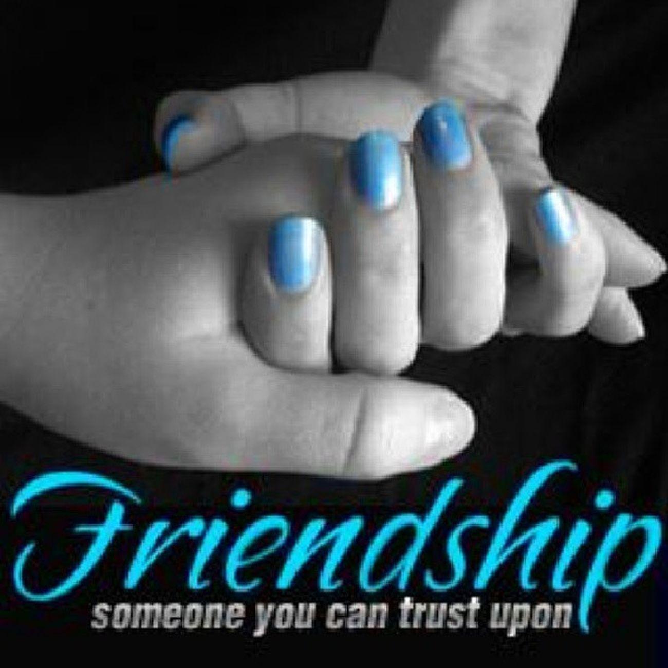 Someone you can trust upon. HappyFriendshipDay Goodmorning HappyFriendshipDayWeek ...