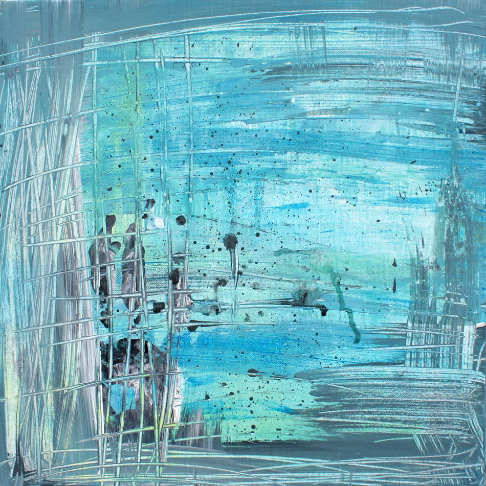 Abstract Abstract Photography Acrylic Acrylic Painting Art Arts Culture And Entertainment ArtWork Blue Blue Sky Canvas Colours Green Mizu Nature No People Painting Painting Art Path Point Of View Waves Art Is Everywhere