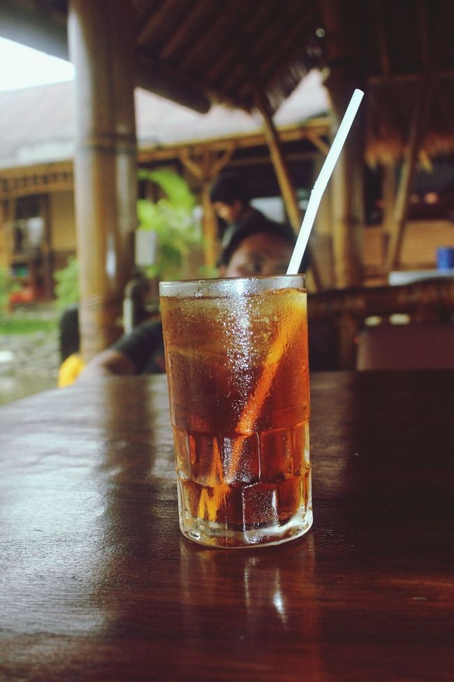 feel refreshingly with simple ice tea Ice Ice Tea Mang Engking Restaurant Playing With Pictures.
