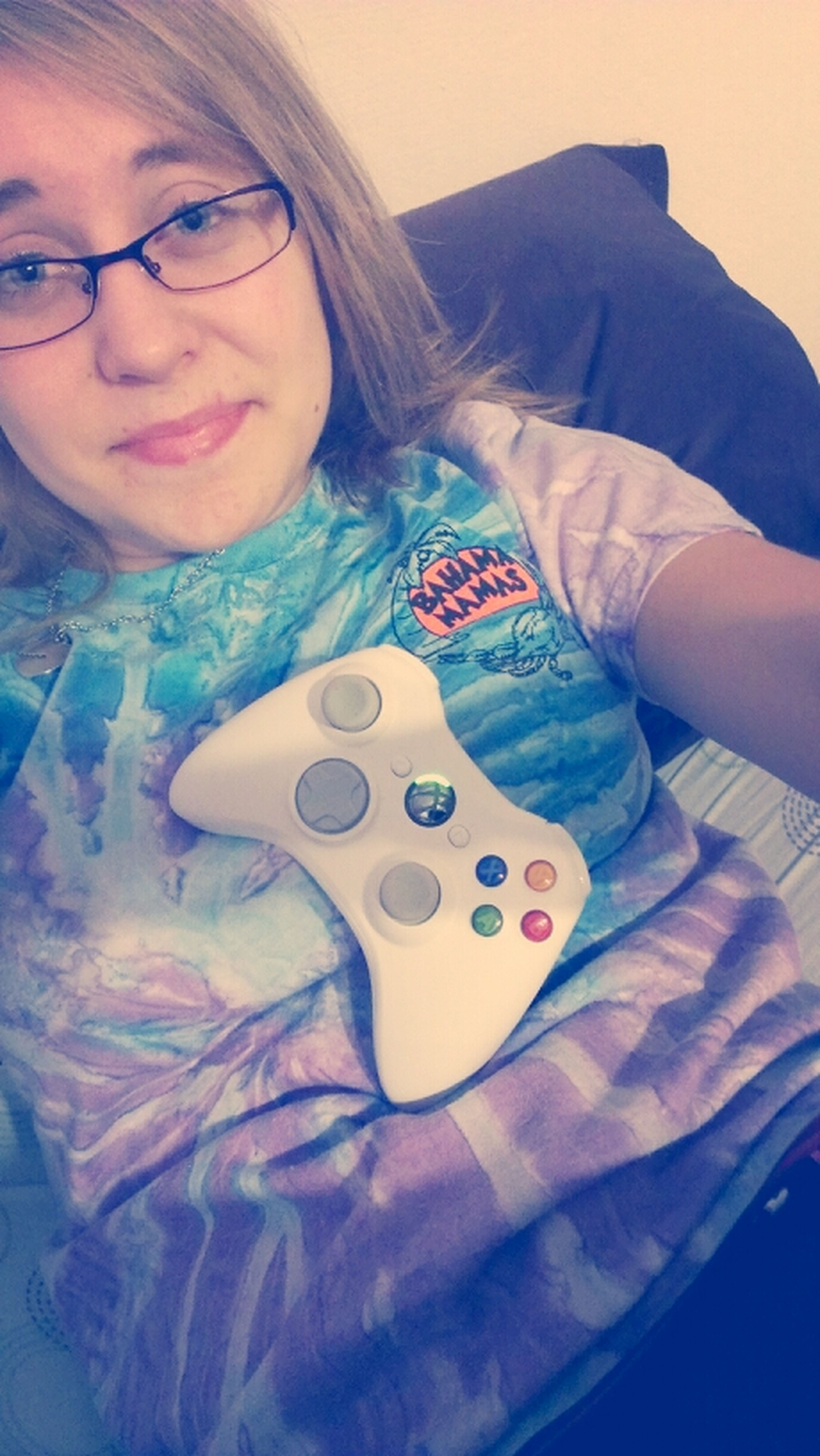 the only time I wear glasses is when I play Xbox ;) ;)
