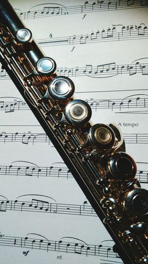 Flute My Flute Taking Photos For The Love Of Music What I Value Enjoying Life Music Musical Instruments Instruments Sheet Music
