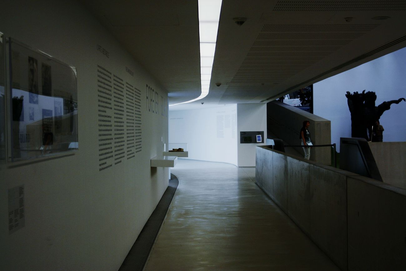Indoors  Corridor Architecture Built Structure No People Day Maxxi Museum Light Reflection Maxx Rome Art Futuristic Window Modern MAXXI Roma Architecture Curve Arts Culture And Entertainment MAXXI MAXXI Museum Rome Italy Illuminated