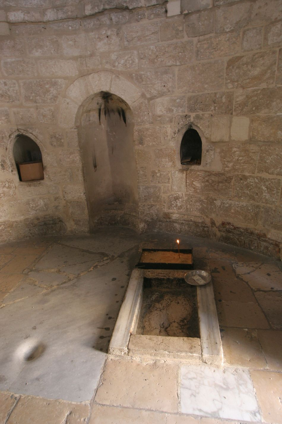 Chapel of the Ascension of Jesus Christ, Jerusalem, Israel Ancient Arch Architecture Ascension Built Structure Chapel Christ Christianity Church City Holy Holy City Holy Land Israel Jerusalem Jesus Jesus Christ Middle East Mount Of Olives Old Palestine Pilgrimage Religion Wall Worship